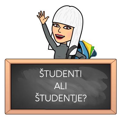 Študenti ali študentje